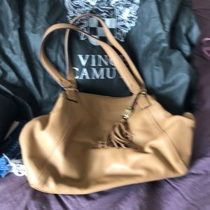 Leather Vince Camuto bag